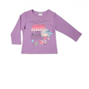 Джемпер Garden baby для девочки, фиолетовый, 39046-02