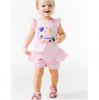 Шорты для девочки Smil от 2 до 3 лет розовые