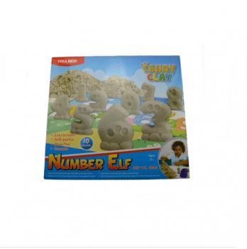 Кинетический песок Paulinda 140023 Number ELF
