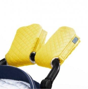 Муфта для рук на коляску Merrygoround Желтый