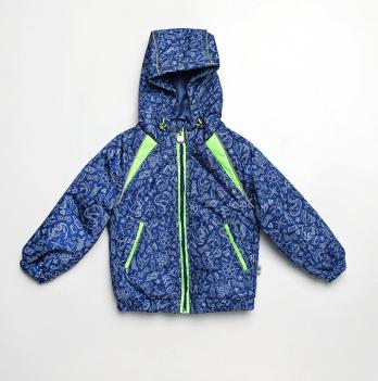 Куртка для мальчика Модный карапуз, синяя