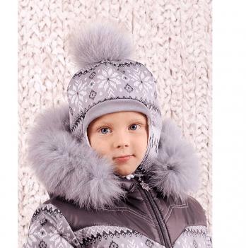 Шапка зимняя для мальчика Модный карапуз Скандинавия