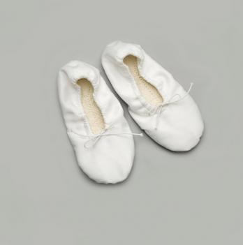 Балетки для танцев Модный карапуз, белые