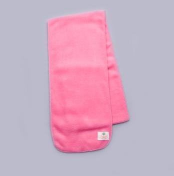 Шарф флисовый Модный карапуз, 165 см, розовый