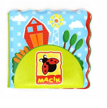 Книжка для купания Macik Ферма