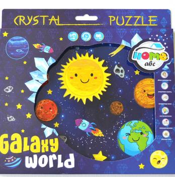 Пазл кристальный Galaxy world, Home-ABC