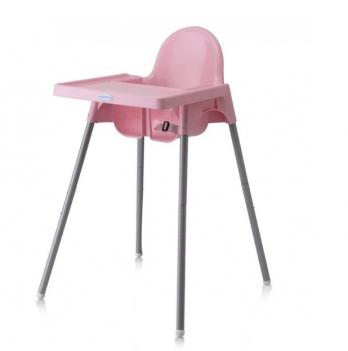 Стульчик для кормления малыша Babyhood, розовый