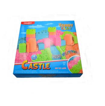 Кинетический песок Paulinda 140070 Castle 4х300g