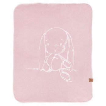 Плед утепленный Effiki розовый 70x90 см