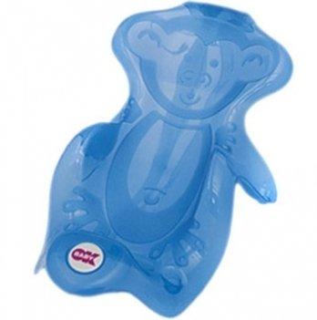 Горка для купания младенцев Okbaby Onda Monkey, голубая