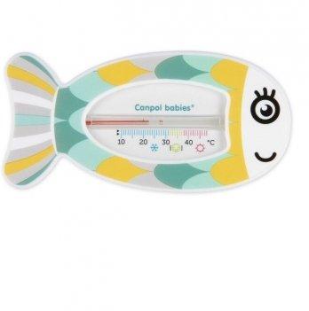 Термометр для воды Canpol babies Рыбка Зеленый 56/151