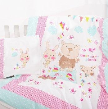 Комплект детского постельного белья ранфорс Whisper Idea 8-11650 3 предмета