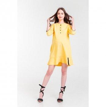 Платье для беременных и кормящих мам White Rabbit Нoney, желтое