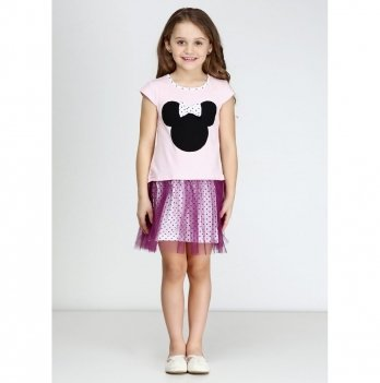 Детское платье Vidoli Розовый G-17043-1S