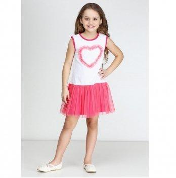 Сарафан для девочки Vidoli Малиновый G-16096S