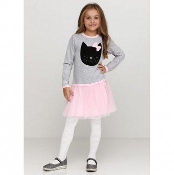 Детское платье Vidoli Серый G-18806W-1