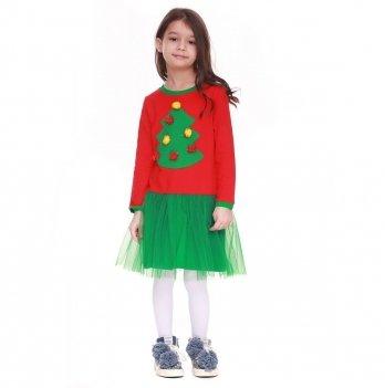 Детское платье Vidoli Красный G-18814W-1