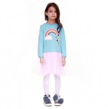 Детское платье Vidoli Голубой G-18816W