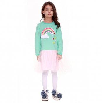 Детское платье Vidoli Мятный G-18816W