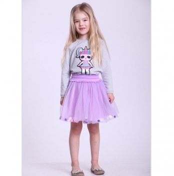 Детская юбка Vidoli Фиолетовый G-19821W