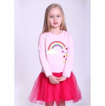 Детское платье Vidoli Розовый G-18816W