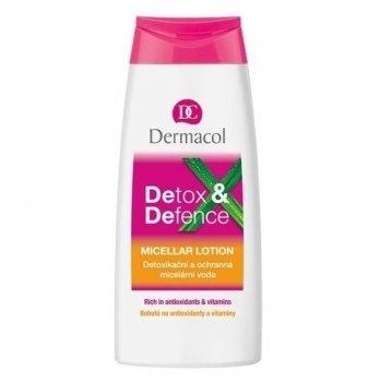 Мицелярная вода для снятия макияжа Detox&Defence (детоксикация и защита), Dermacol