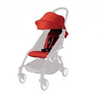 Комплект цветной YOYO Plus 6+Red, BABYZEN, (капюшон, матрасик)