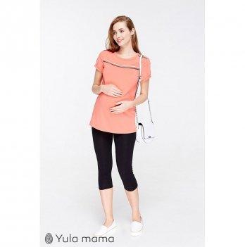 Лосины для беременных MySecret Mia new SP-29.011 трикотажные, черные