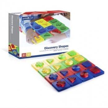 Пазл Social Emotional Toys Guidecraft Z1520 Формы и цвета