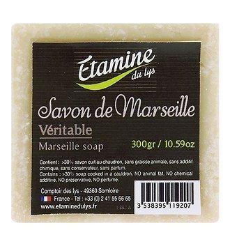 Мыло в бруске Etamine du Lys Марсель, зеленое, 100 гр