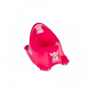Горшок музыкальный нескользящий Tega baby Принцессы Розовый PO-049-123