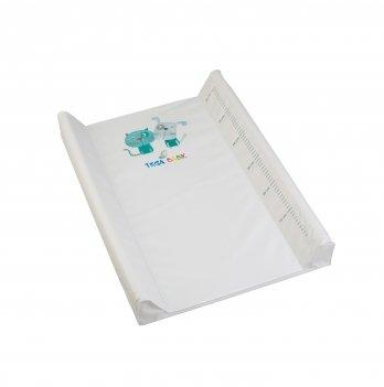 Пеленальный матрас Tega baby Кот и Пес Бежевый 50*70 см PK-009-119