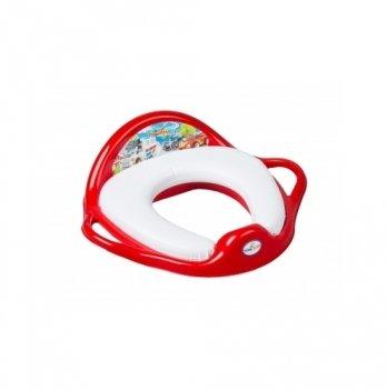 Детское мягкое сиденье для унитаза Tega baby Авто Красный CS-002-121