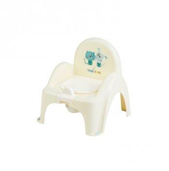 Горшок-стульчик Tega baby Кот и Пес Желтый PK-007-102