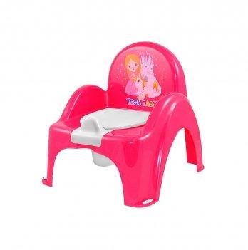 Горшок-стульчик Tega baby Принцессы Розовый РО-054-123