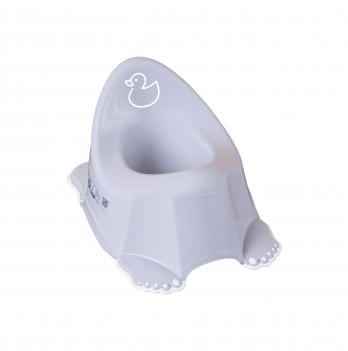 Горшок детский с антискользящим покрытием Tega babу Уточка Фиолетовый DK-001-133