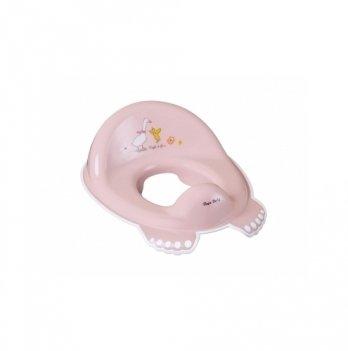 Детское нескользящее сиденье для унитаза Tega baby Лесная сказка Розовый FF-002-107