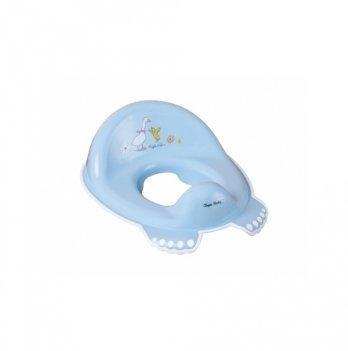 Детское нескользящее сиденье для унитаза Tega baby Лесная сказка Голубой FF-002-108