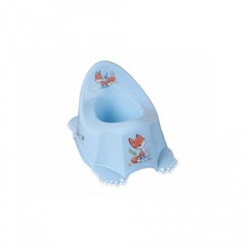 Музыкальный горшок с антискользящим покрытием Tega baby Лесная сказка Голубой PO-069-108