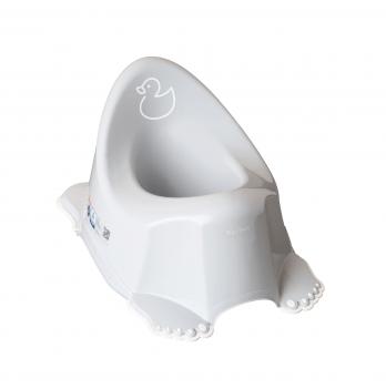 Музыкальный горшок с антискользящим покрытием Tega baby Уточка Серый PO-070-122