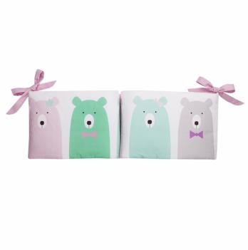 Защитные бортики Cotton Living Funny Bears Pink