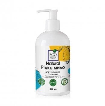 Натуральное жидкое мыло EcoKrasa Для украинской хозяйки 350 мл