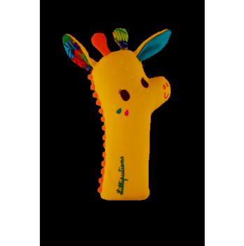 Погремушка-пищалка Lilliputens жирафка Зиа