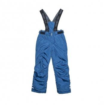 Комбинезон со шлевками для мальчика Модный карапуз, синий