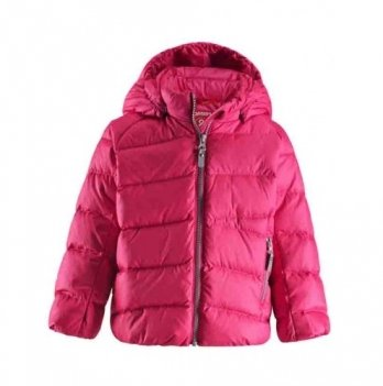 Куртка пуховик Reima Vinta, розовая