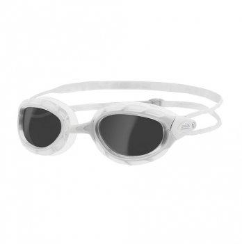 Очки для плавания/для взрослых Zoggs Predator, белые